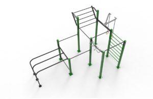 Triple rack